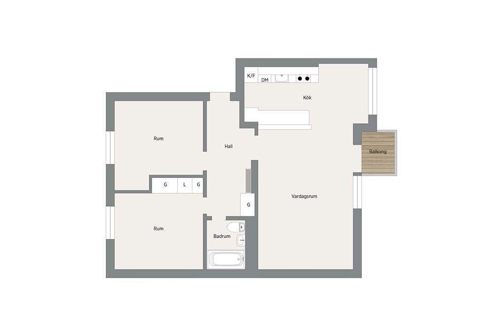 Планировка интерьера маленькой квартиры