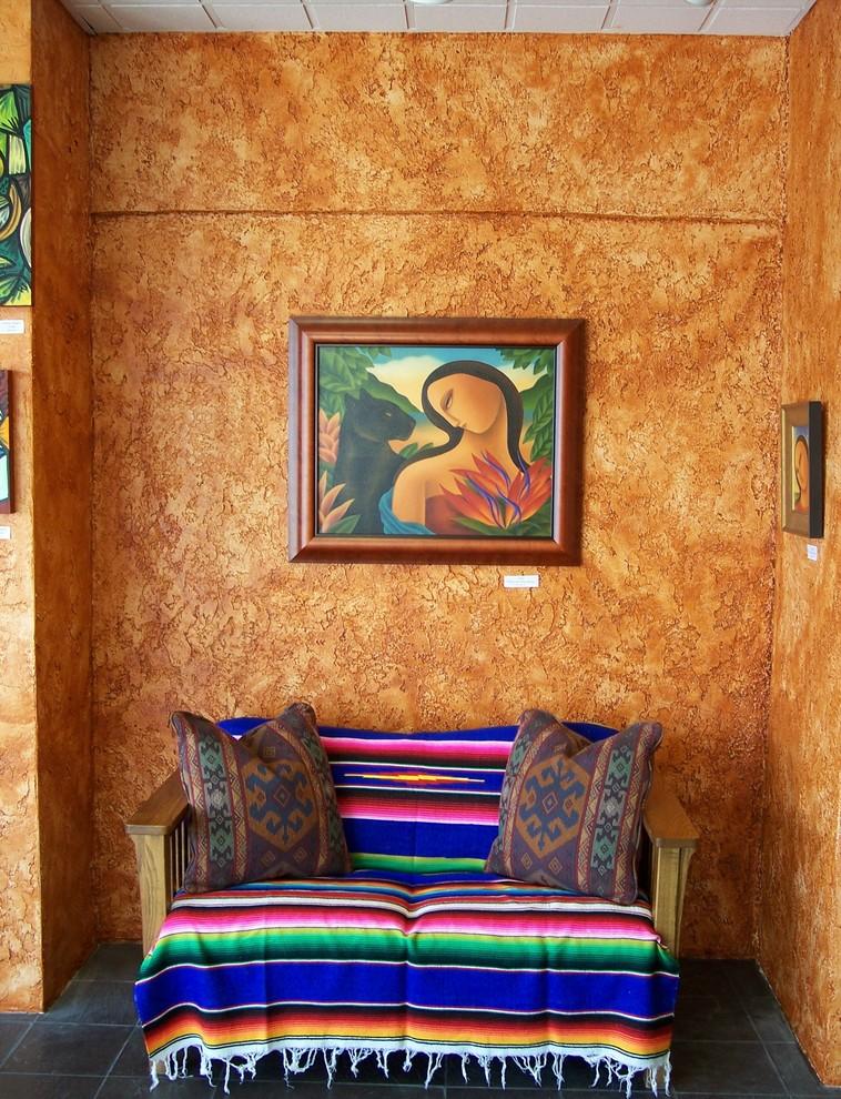 Оформление стен в мексиканском стиле