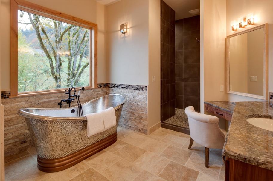 Современное оформление ванной