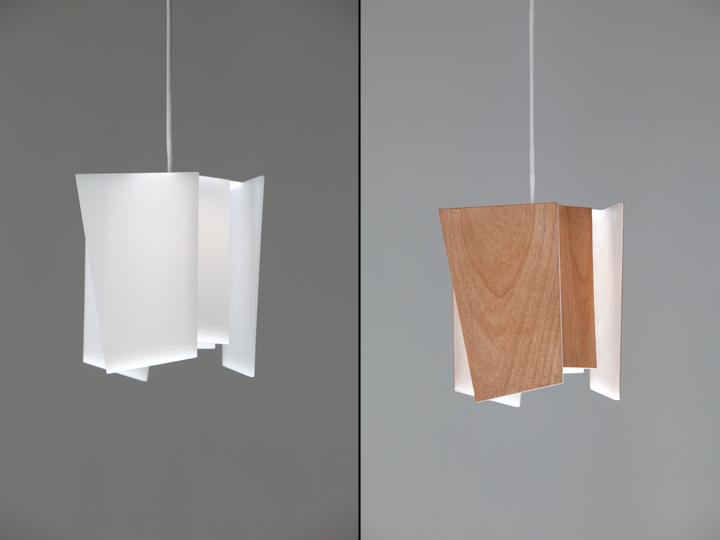 Деревянный флакон светильника Levis от Cerno
