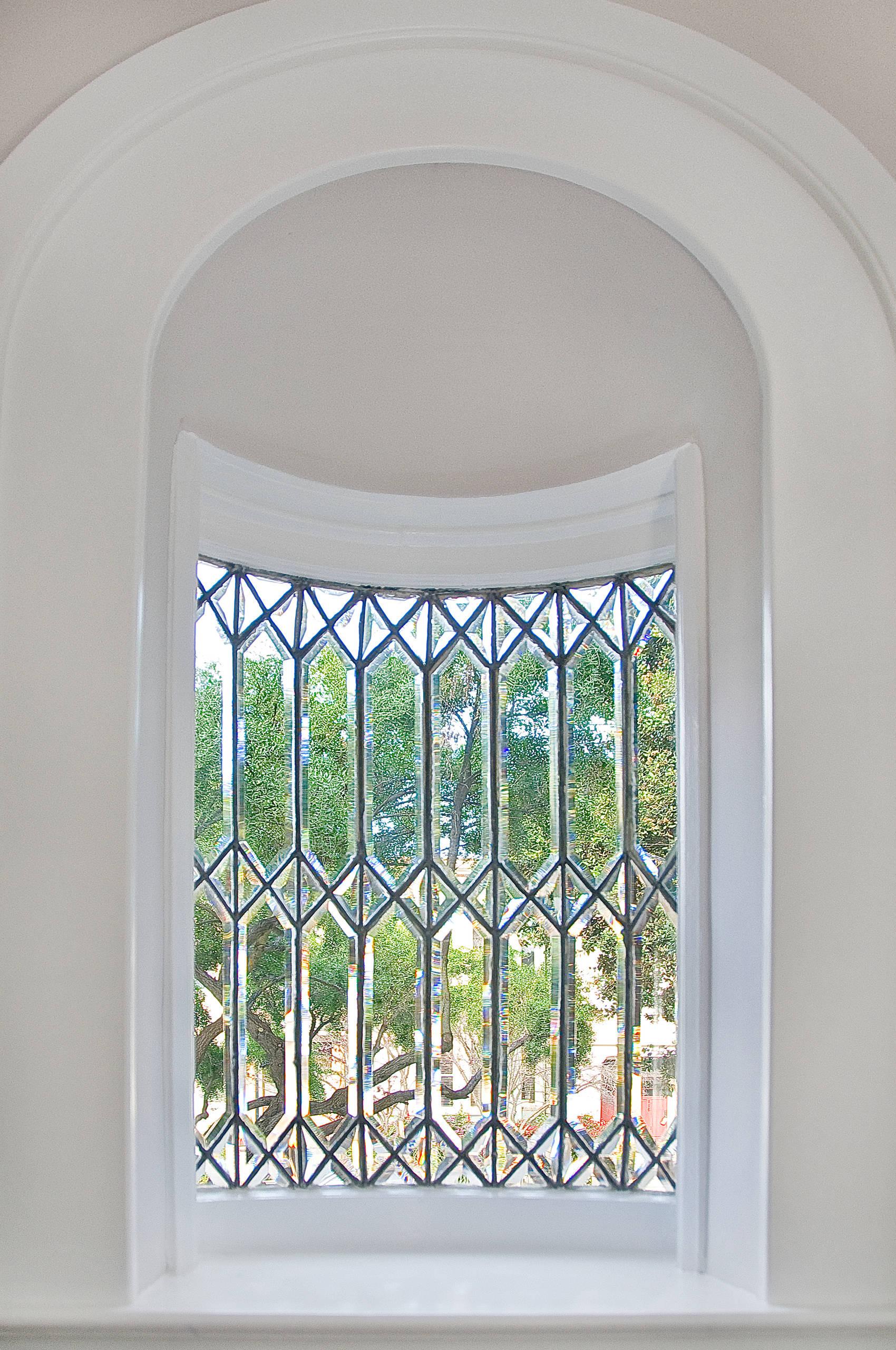 Окно из освинцованного стекла