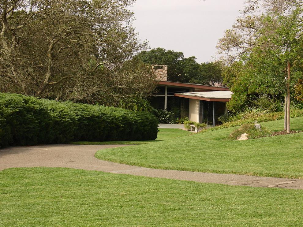Восхитительный декоративный сад Donnell в Сономе от Томаса Долливера