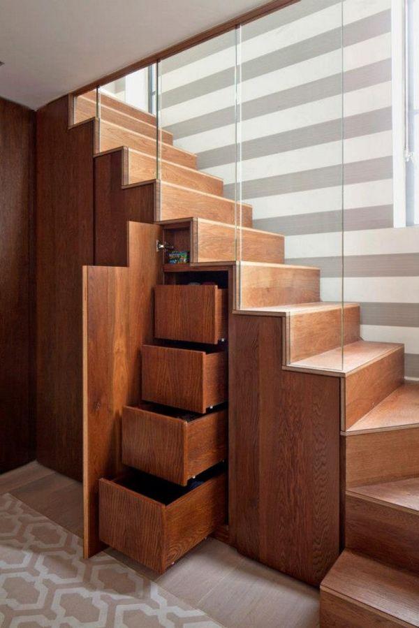 Дизайн лестница своими руками 542