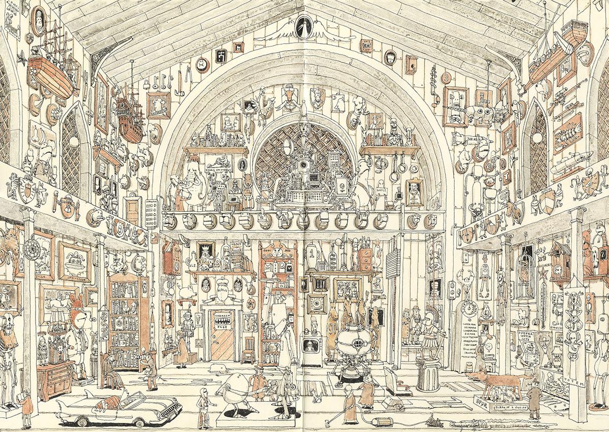 Красивый рисунок художника Mattias Adolfsson