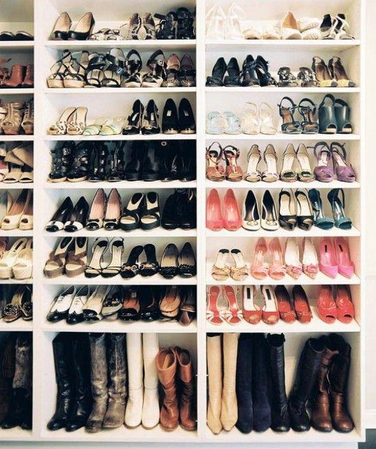 Хранения обуви в шкафу