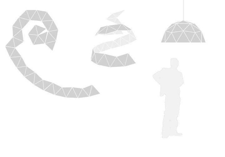 Схема светильника GeoLamp от Mezzo Atelier