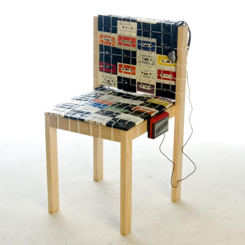 Необычный стул в эко-стиле