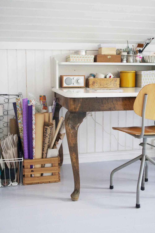 Старинный рабочий стол