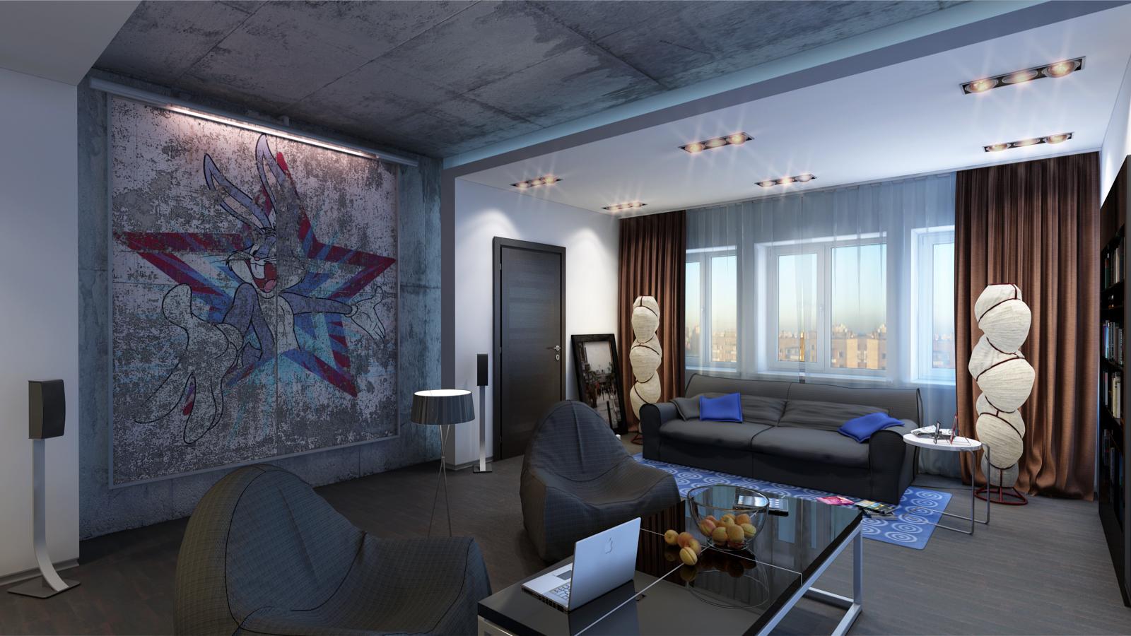 Оформление интерьера в стиле урбанизм