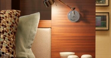 Настенный светильник в интерьере