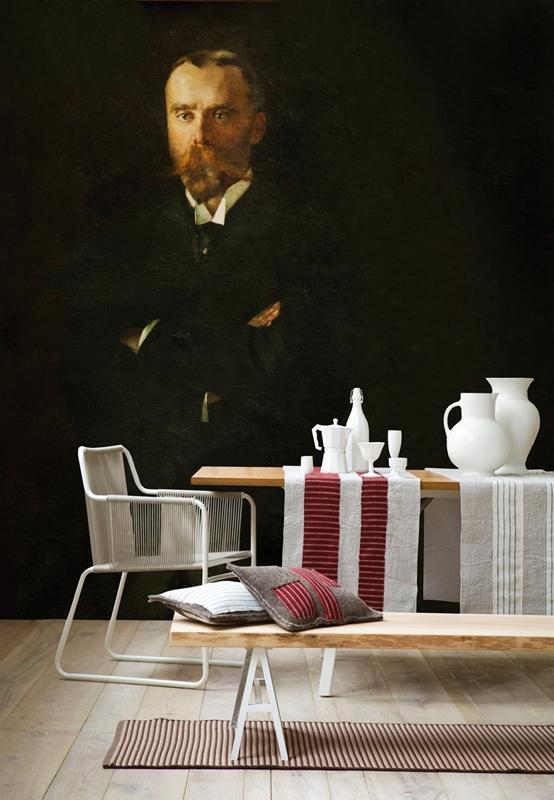 Чудесные обои от Wall&Deco в интерьере помещения