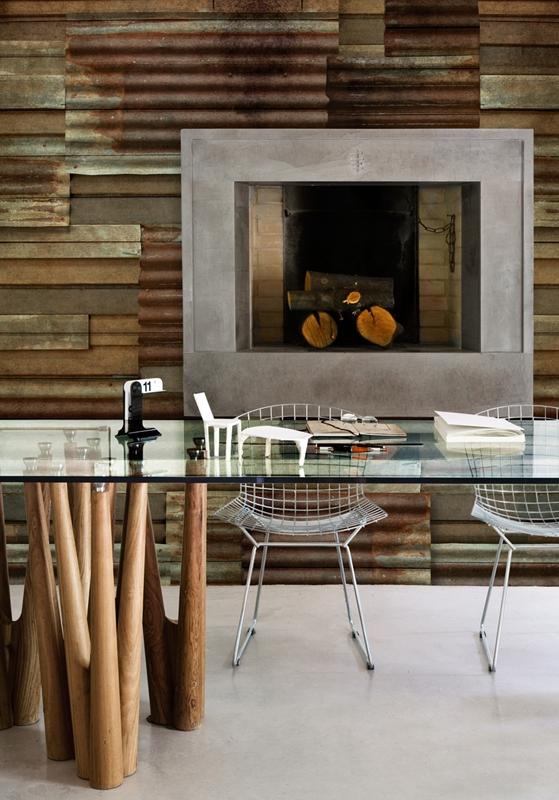 Прекрасные обои от Wall&Deco в интерьере помещения