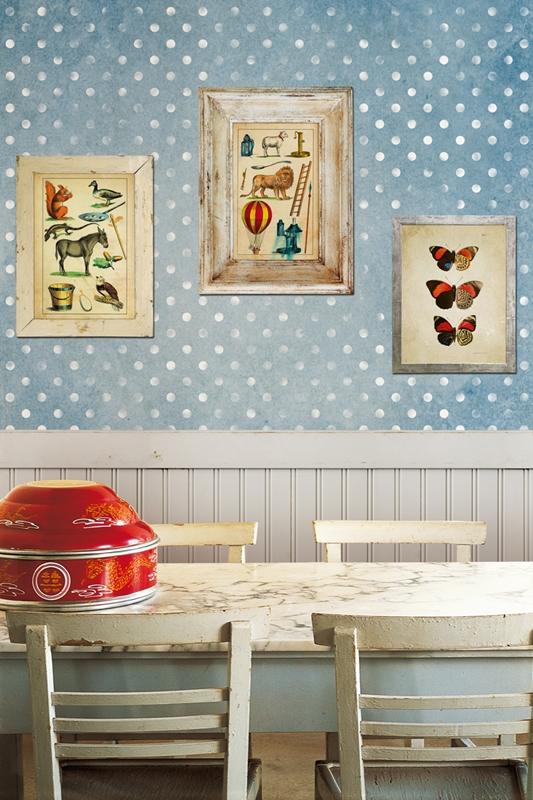 Замечательные обои от Wall&Deco в интерьере помещения