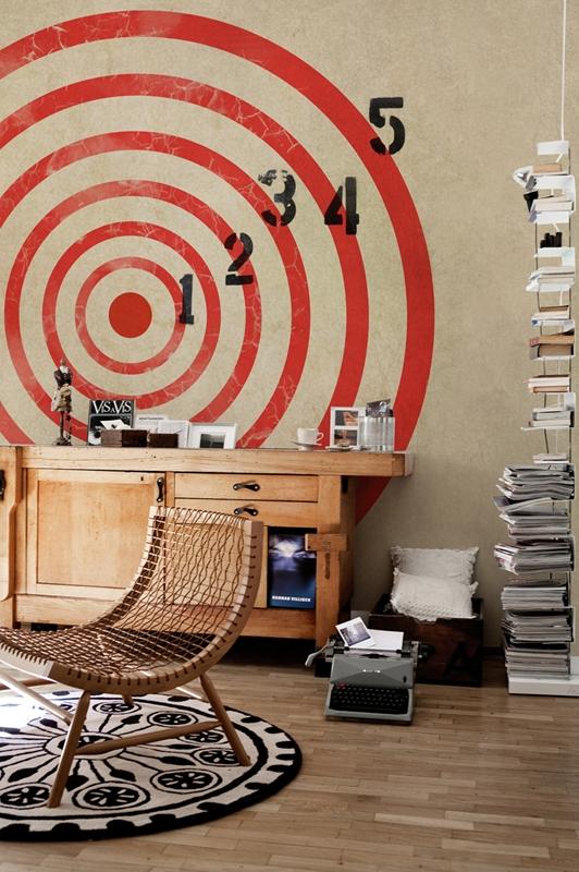 Стильные обои от Wall&Deco в интерьере помещения