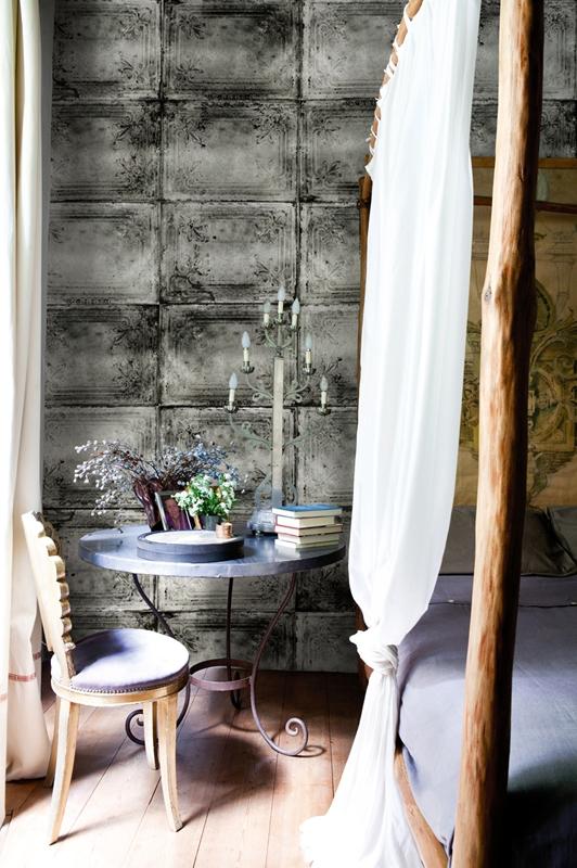 Первоклассные обои от Wall&Deco в интерьере помещения