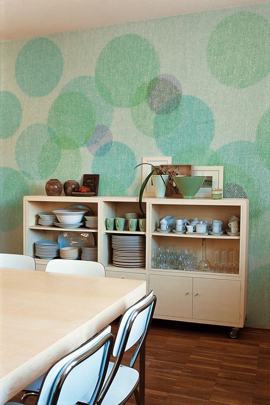 Шикарные обои от Wall&Deco в интерьере помещения