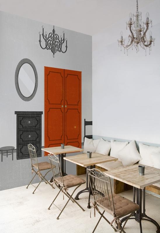 Легендарные обои от Wall&Deco в интерьере помещения
