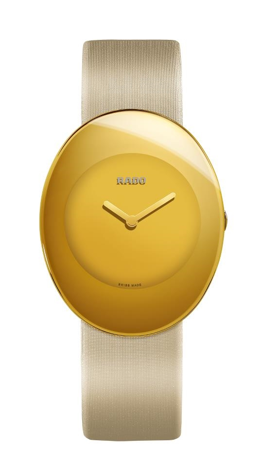 Часы из коллекции Rado eSenza Colours в желтом цвете