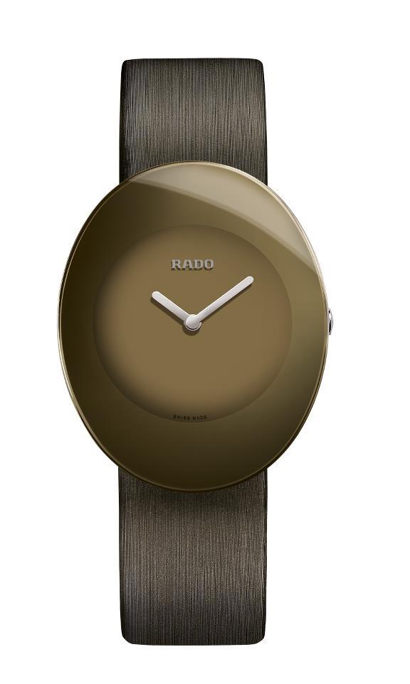 Часы из коллекции Rado eSenza Colours в коричневом цвете
