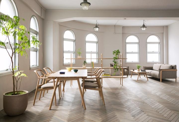 Чудесные ддеревянные стулья Yamanami от дизайнера Mikiya Kobayashi