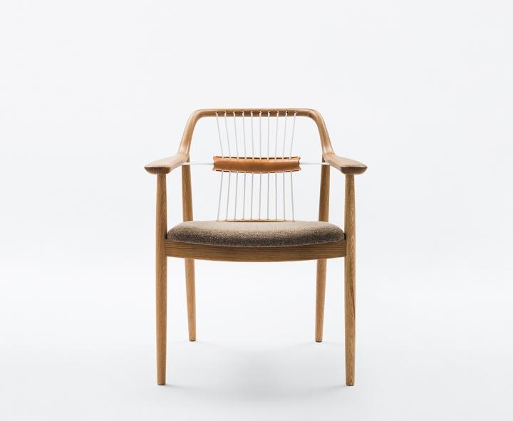 Красивый деревянный стул Yamanami от дизайнера Mikiya Kobayashi