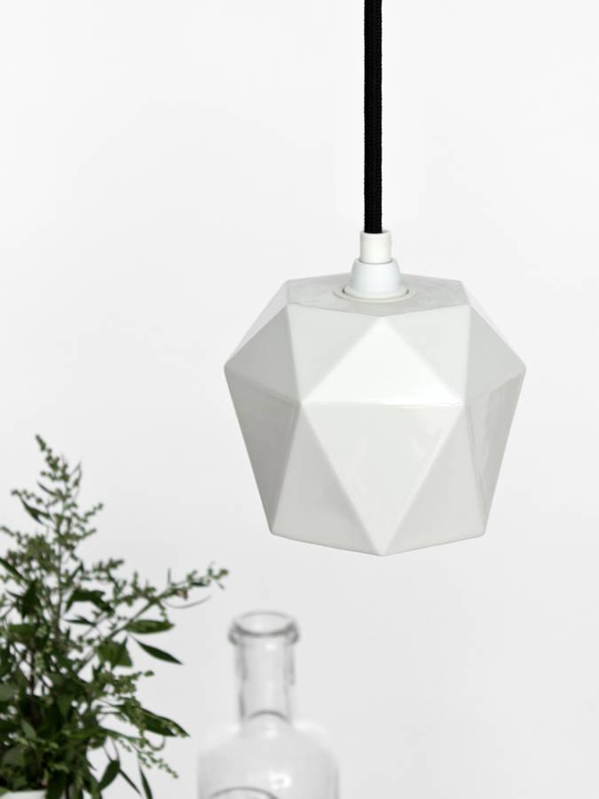 Светильники в стиле минимализм необычной геометрической формы