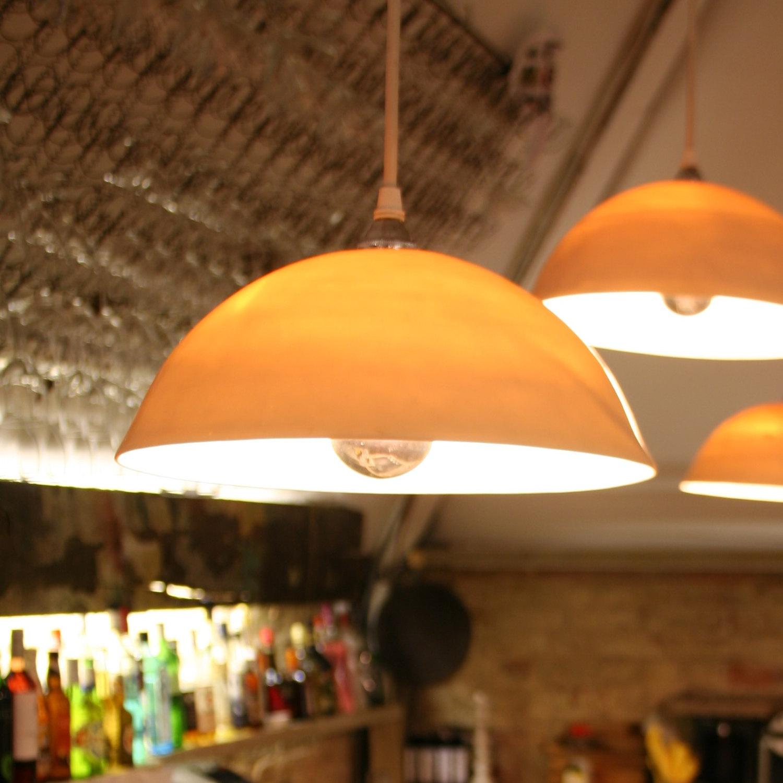 Светильники в стиле минимализм в виде половины яйца