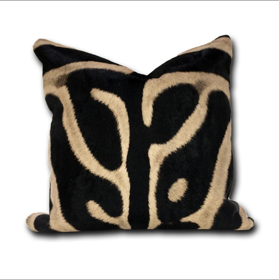 Черно-коричневые подушки