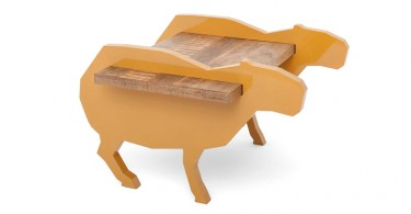 Журнальный столик в виде верблюда от Albus