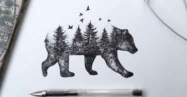 Графические иллюстрации от Альфред Баша