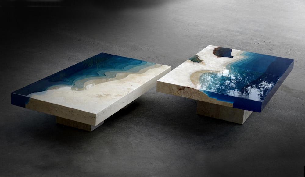 Original coffee tables from Alexander Shapelin