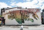Бестиарий от уличного художника Алексиса Диаса: гибридные существа на стенах зданий