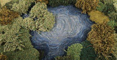 Александра Кехайоглу: шерстяные ковры с мечтательными природными ландшафтами Аргентины