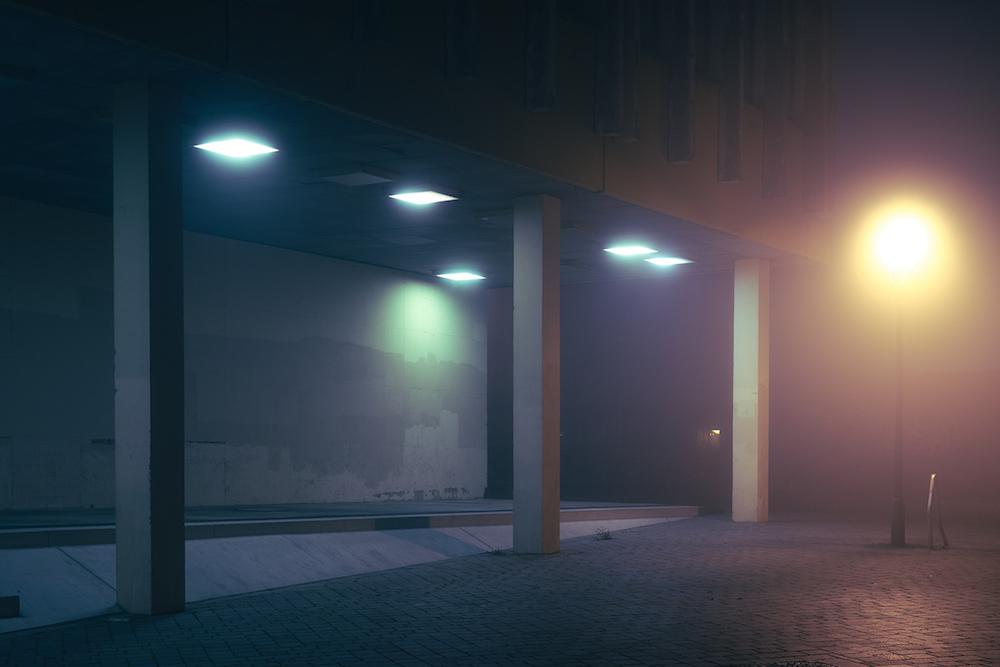 Призрачные огни на фотографиях от Андреаса Леверса