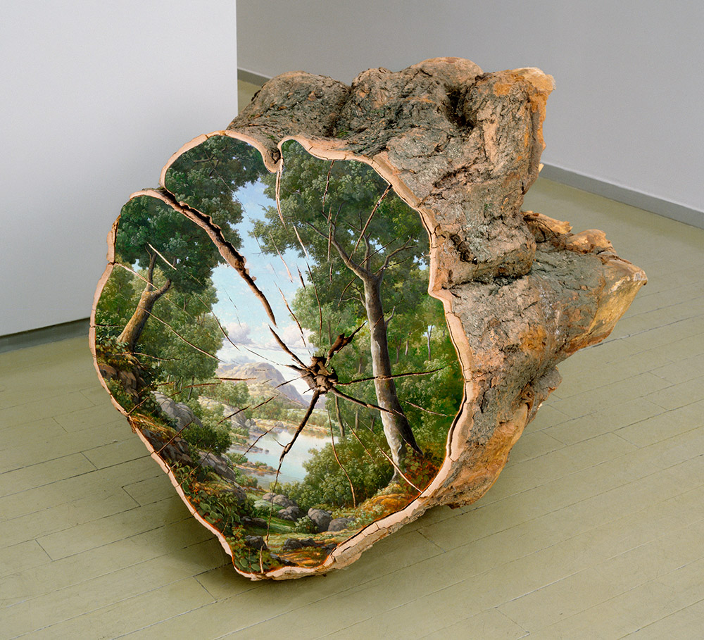 Среза дерева своими руками