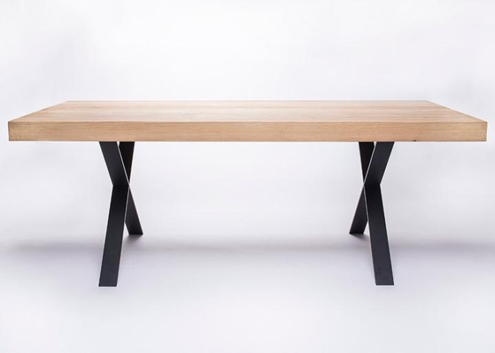 Массивные металлические ножки стола от студии 5mm