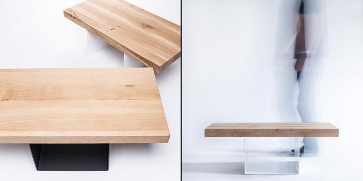 Съемная столешница стола от студии 5mm