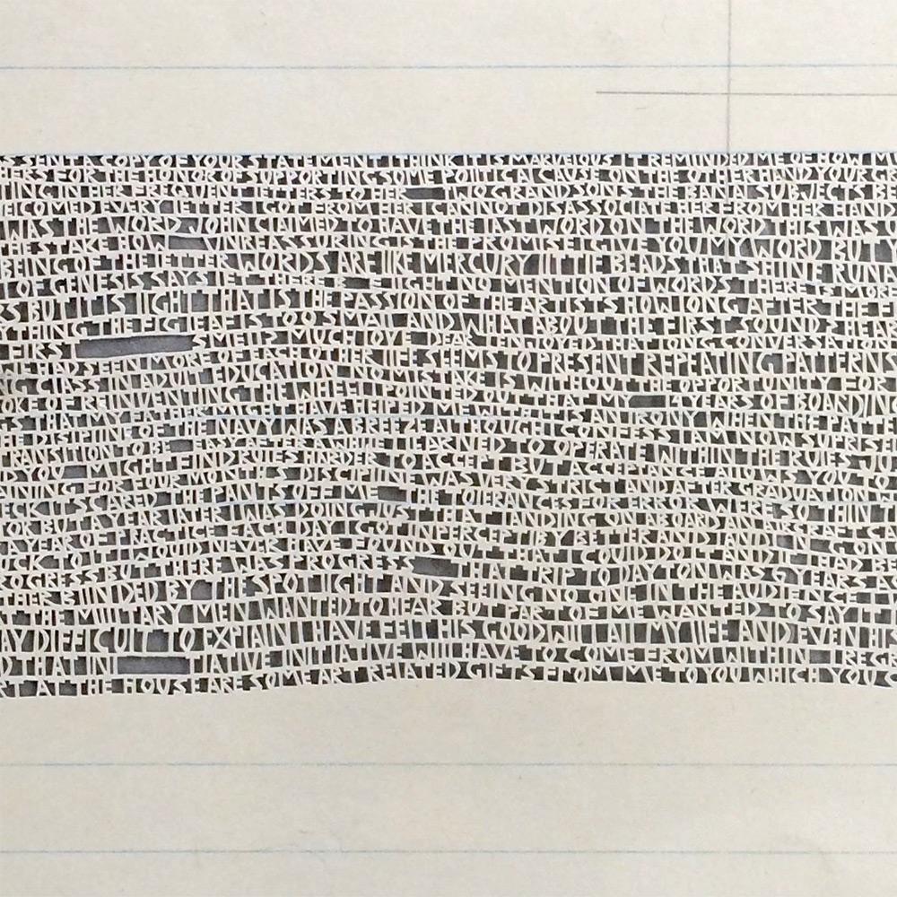 Из частной переписки: бумажные скульптуры от Анни Вохт