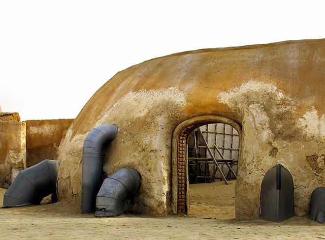 Снимки заброшенных съемочных площадок фильма «Звездные войны»