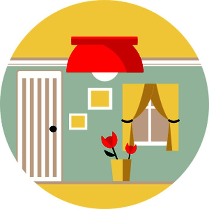 Схема оформления освещения в комнате