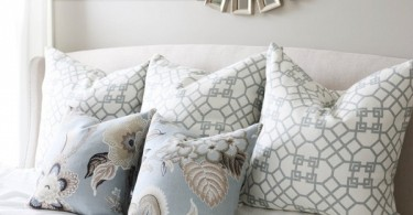 Красивые подушки с принтом