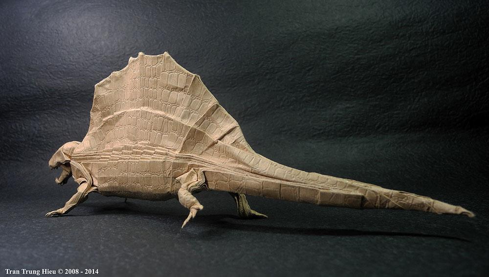 оригами Адама Трэна