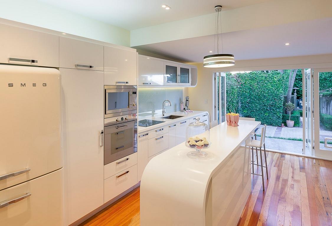 Интерьер кухни в ретро-стиле