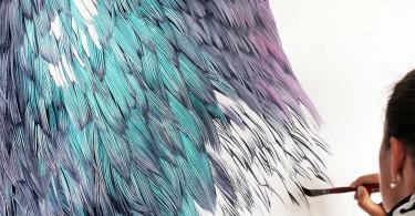 Адель Рено: потрясающие портреты голубя Кампа