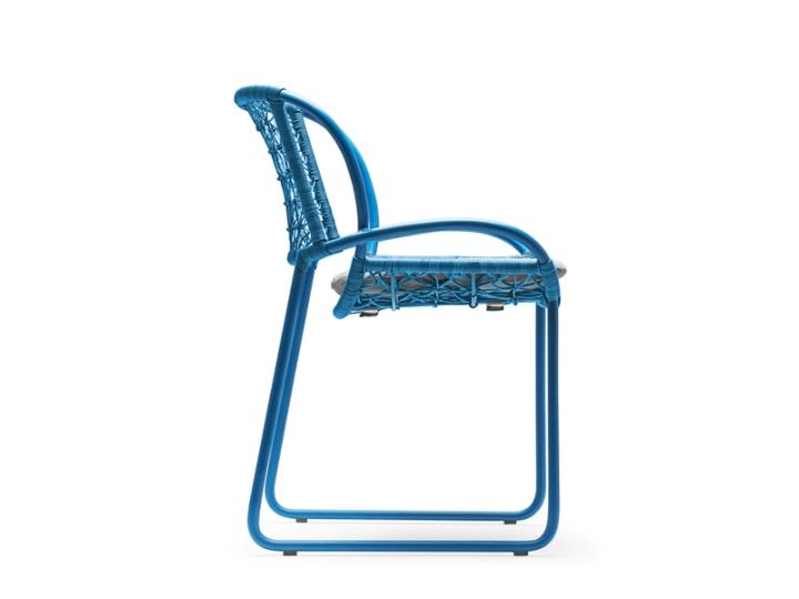 Восхитительное стул - вид сбоку