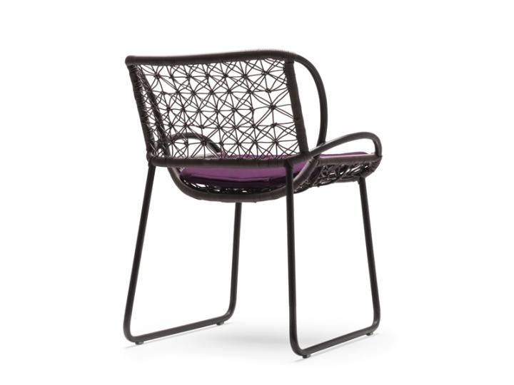 Прекрасная стул - вид сзади