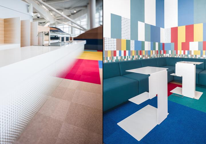 Прекрасный дизайн зала ожидания аэропорта Henri Coanda в Бухаресте