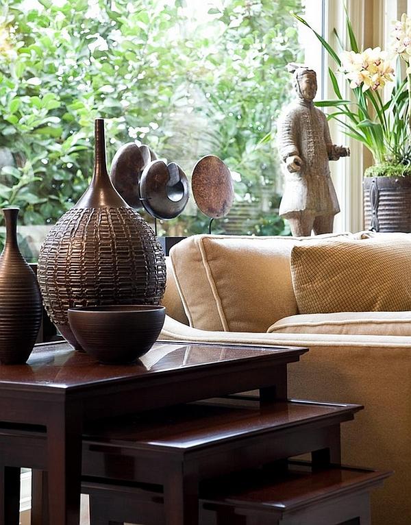 Роскошный дизайн интерьера в этническом африканском стиле