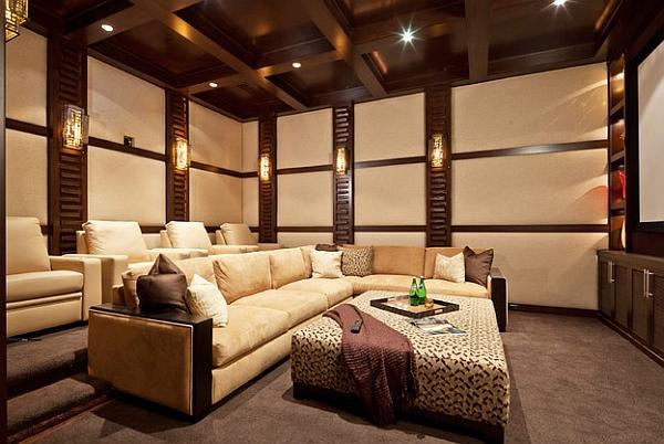 Прекрасный дизайн интерьера в этническом африканском стиле