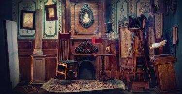 Новая миниатюрная диорама от Али Аламеди: фотостудия начала 1900-х годов